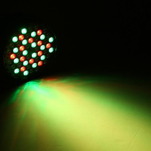 TOMTOP / 54 LEDs RGBW Stage Light DMX Lighting Projector Lights