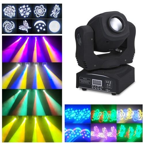 Mini cabezas de LED de 60W con luz de escenario móvil