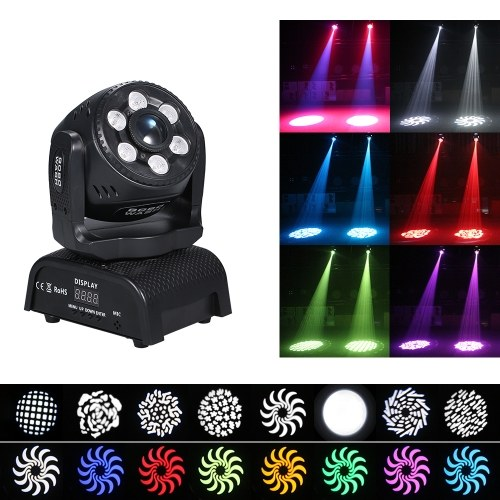 100W Power RGBW LED Gobos Moving Heads Stage Light