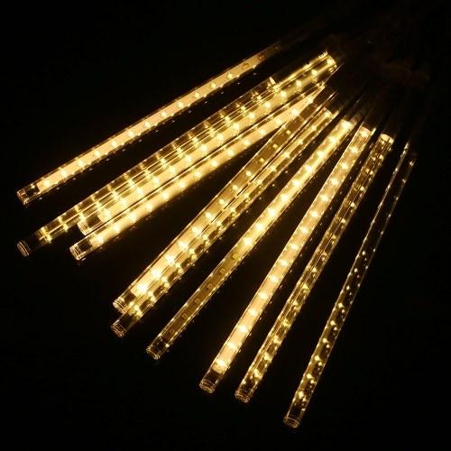10 ламп 300 светодиодов 300MM Метеоритный дождь Огни падающего дождя