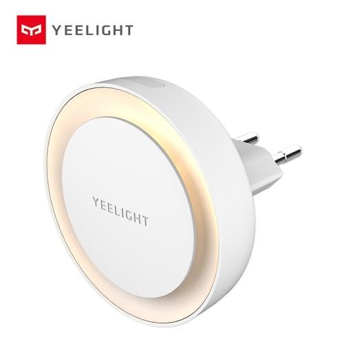 Yeelight YLYD10YL LED enchufable Luz de noche Blanco cálido Sensor de iluminación de ahorro de energía para sala de estar Dormitorio Pasillo Escaleras