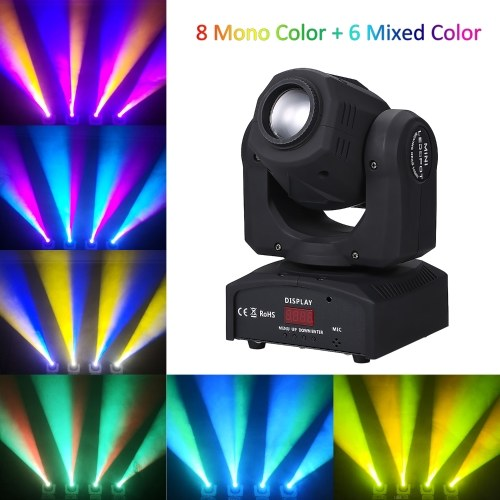 8 Mono Color 6 Mixed Color 90W LEDs Heads Moving Stage Light