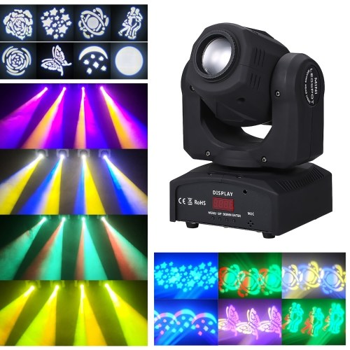 8 lumière d'étape mobile de couleur de 6 couleurs mélangées 90W LED mono