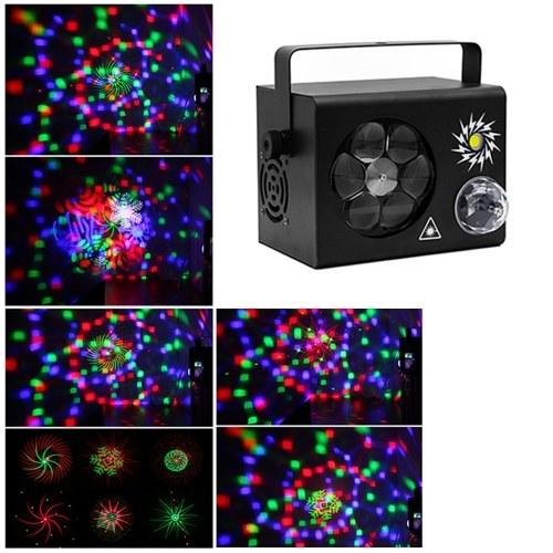 36W Stage Light Lampe DMX-Leuchte Unterstützt Auto-Run / Sound Activated / Flash-Effekt