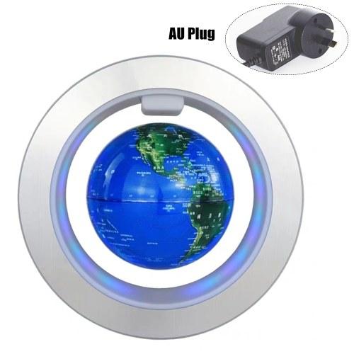 """Magnetic-Levitation Floating Globe 4"""" with LEDs Light"""