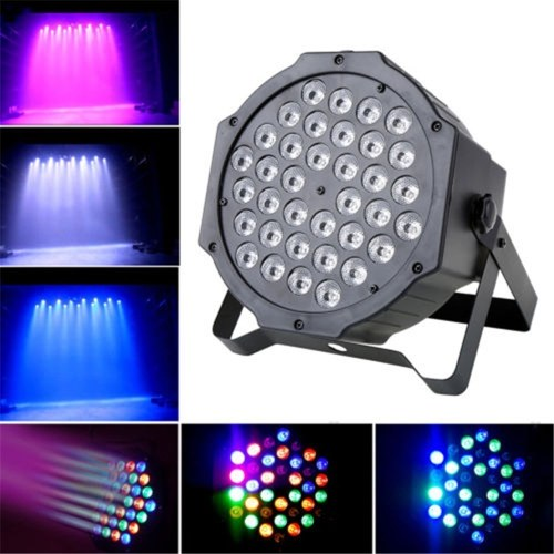 36W 36LEDs Projector Stage Light Sound Activated RGB Disco DJ Bar Dye Beam Lamp