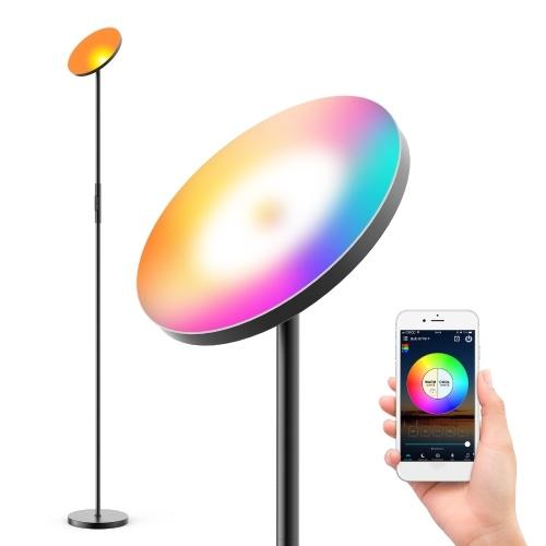 Lampada da terra a LED con connessione Wi-Fi da 100-240 V 24 W (16 milioni di colori / 20 modalità dinamiche)