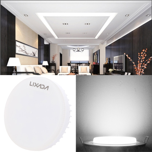 Lixada 7W GX53 Bulb 580LM Decorative Practical LED Spotlight