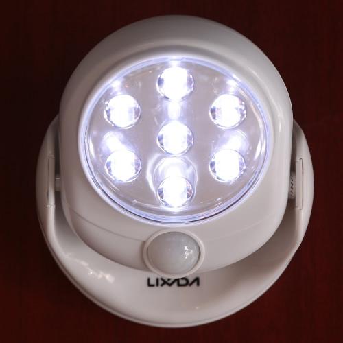 Led De Pour Sans Ampoules Par Lumière Capteur Intérieure 20lm Porche Lixada Utilisation 7 Mouvement Batterie Avec Fil Applique Alimentée Du k0nP8wO