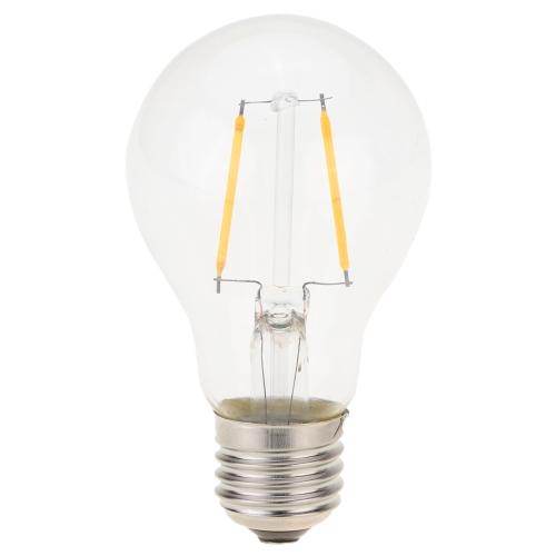 2W LED A19 Filament ampoule AC 220V E27 Base 20W équivalent Vintage Retro Noël Festival décorations de vacances chaud blanc 2200K