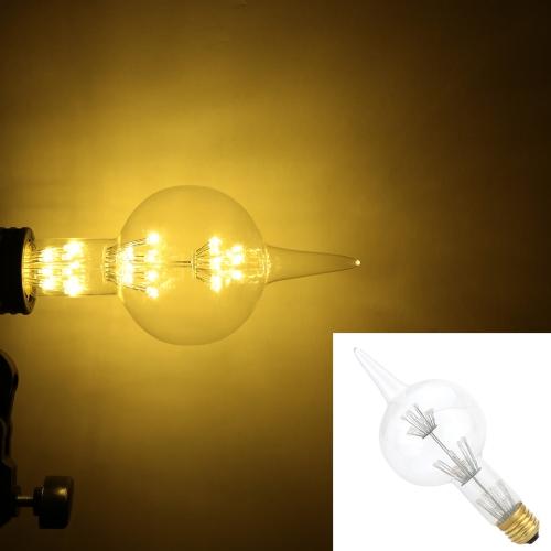 3W G80 Gourd w kształcie LED Żarówka AC 220V E27 Base 30W Równoważna Vintage Edison Projekt Ciepłe Retro Święta Bożego Narodzenia Holiday Dekoracje Ciepłe białe 2200K