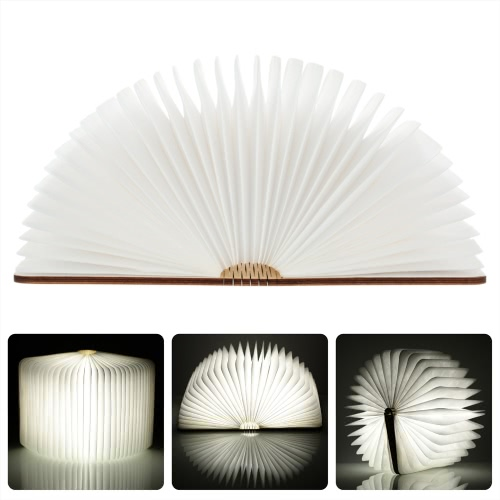 Lixada  4.5W 500LM LED Rechargeable Folding Book Light