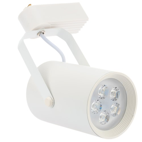 5W LED Track Rail Light Spotlight Adjustable for Mall Exhibition Office Use AC85- 265V