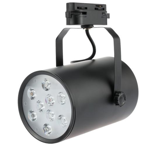 9W LED COB Track Rail Light Spotlight Adjustable for Mall Exhibition Office Use AC85- 265V