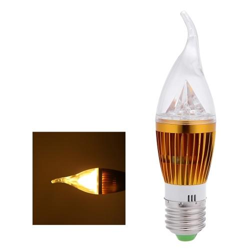 AC220V 10W E27 Светодиодная лампа свечей накаливания