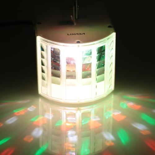 Lixada 30W RGBWY LED DMX512 звуковой активации автоматического запуска 6 каналов Мини этапа свечения лампы для КТВ диско клуб свадьбу
