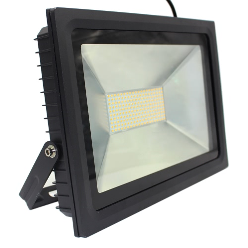 15W 28 LEDs 1100-1300LM SMD2835 AC180-240V Ultrathin Floodlight Spotlight Water-resistant Garden Landscape Parking Lot Shopping Mall Building Billboard Lighting Use