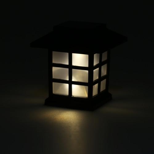 Солнечные светодиодный фонарик 0.2W 10LM Light Sensing перезаряжаемые IP55 Водонепроницаемые Пейзаж сада Двор Lawn Балкон Использование вне помещений Теплый белый