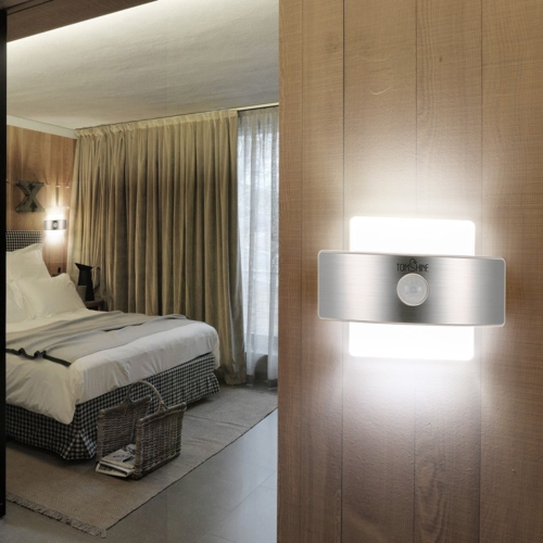 Tomshine Rechargeable PIR Body Motion Induction Sensor Wall Night Light