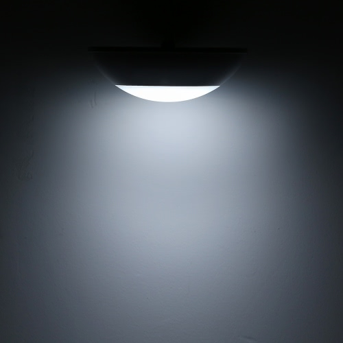 1.5W 15 LED солнечной энергии Radar Индукционного Пролить свет 300LM водостойкого Открытого пейзаж Бра Диммируемого Auto On / Off для Yard Сад Балкон Патио Кемпинг Белого