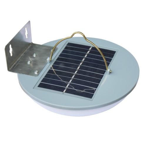 Image of 1.5W 15 LED Solar Powered Radar Induction Shed Light