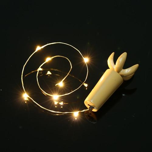 36CM 4 LED de alta brillante estrellado de la luz de hadas de Cuerda