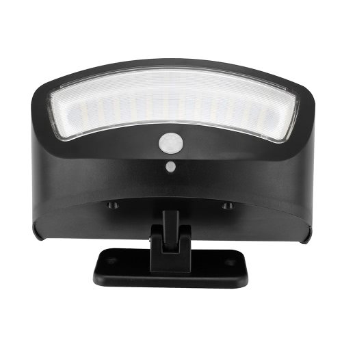 Solar Porch Lights 36 LED Wireless Waterproof Outdoor Motion Sensor Security Lights 4 Modes Wall Lamps for Step Stairs Patio Porch Garden Path