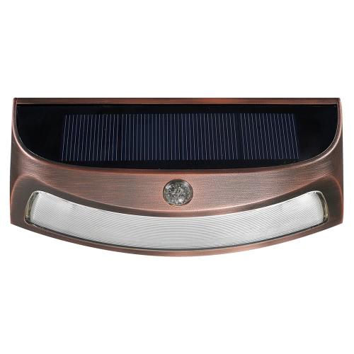 4 LED Solar RGB Light Spotlight Adjustable Wall Light