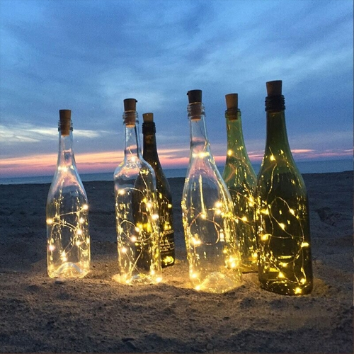 Tomshine  Wire String Light 6PCS High Bright Starry Fairy Creative Bottle Stopper