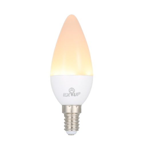 5W C37 E14 LED Candle Shape Light Bulb