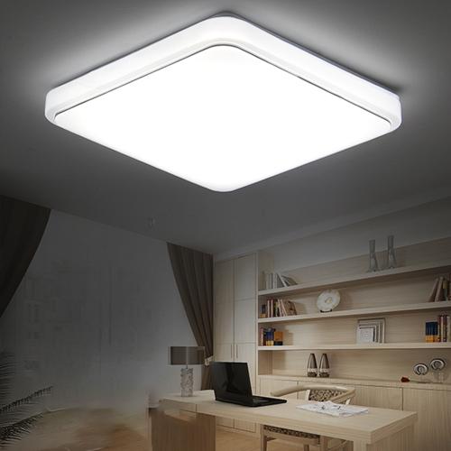 Appareil d'éclairage carré de plafond de 24W LED Quadrilateral Tetragonum