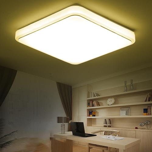 24W 16 светодиодов квадратный четырехсторонний потолочный светильник