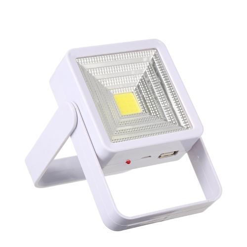 Солнечный светодиодный фонарик с подсветкой с USB