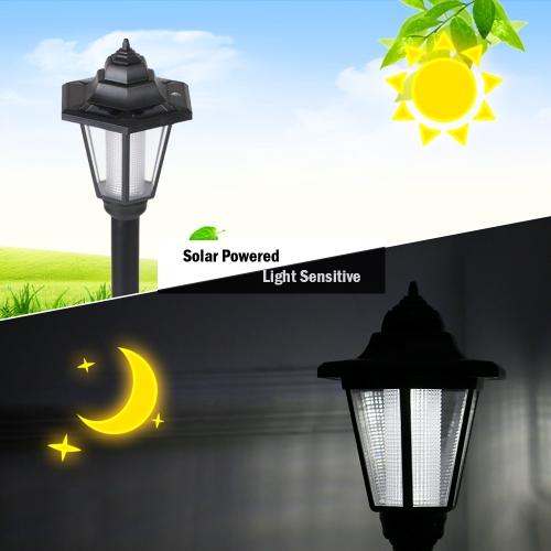 Hexagon wiederaufladbare LED solarbetriebene Rasen Licht