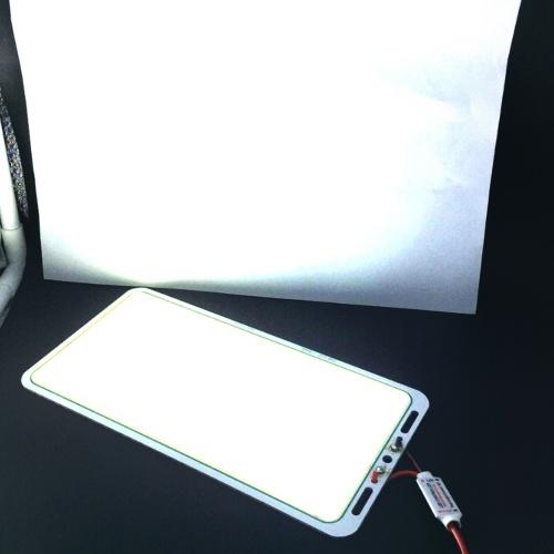 12V 70W 7000LM COB Светодиодная панель с полосой света Чип Лампа