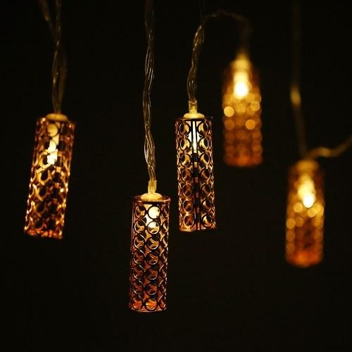 3,3 метра / 10.8Feet 20 светодиодных струнных ламп полых лампочек