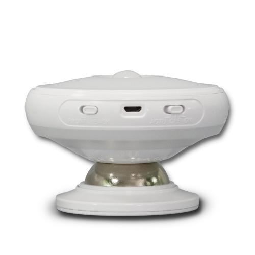360 ° Вращающийся датчик движения Свет человеческого тела Индукция Night Light Светодиодная настенная лампа