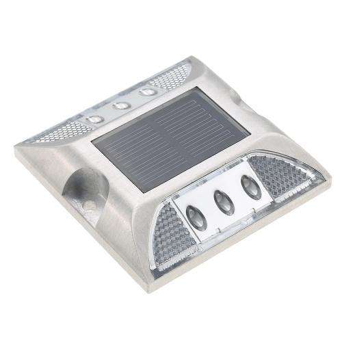 2.5V 2W 6 LEDs Solar Powered Energy Driveway Lamp