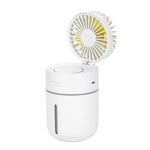 DC5V 2W Mini Humidifier Diffuser Fan Mist Spray with Night Light