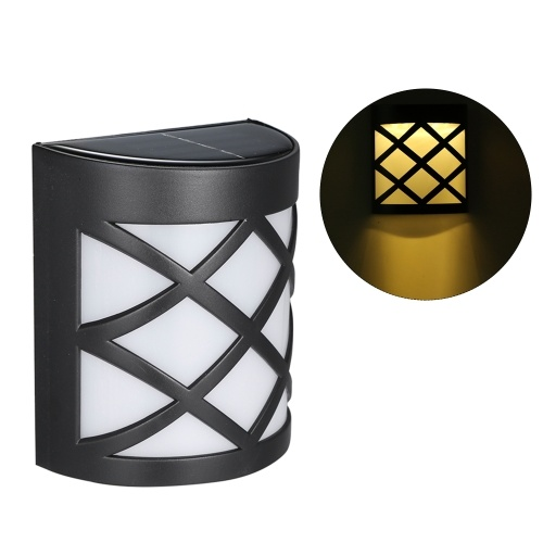 6LED Solar Powered Wall Light