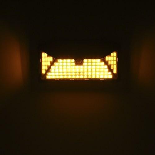 102LEDs Solar Lamp Motion Sensor