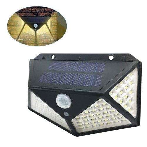 100LED Solar Light Motion Sensor Wall Lamp