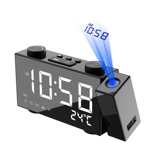 LCD Digital Projection Alarm Clock