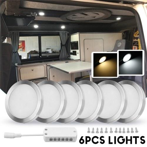 6шт интерьер светодиодные прожекторы