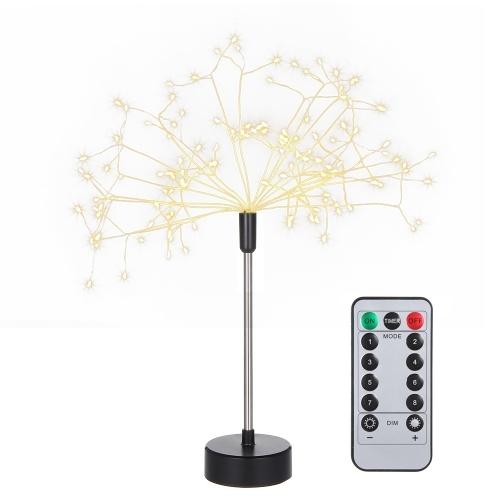 120 LED Rama Árbol Luces Lámpara de mesa Centro de mesa Interior al aire libre Decoración artificial