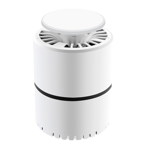USB 5V Powered Mosquito Killer Lamp UV Silent Insect-trap Light with Suction Fan