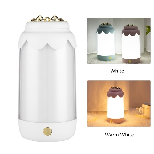 Led Nachtlicht USB wiederaufladbare Tischlampe Leselampe Nachttischlampe für Wohnzimmer Schlafzimmer