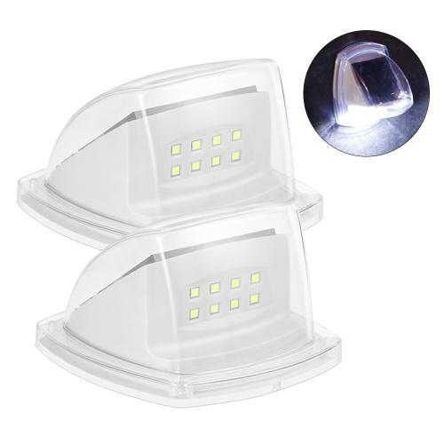 Outdoor Solar Step Light Sonnenbetriebenes LED beleuchtetes Zaunlicht Wasserdichtes Solarlicht