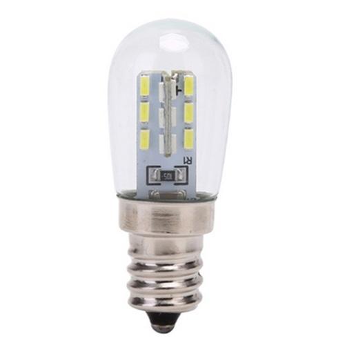 E12 220V Glühlampe Hochhelle Glaslampe Schirmlampe für Nähmaschinen Kühlschrank Beleuchtung