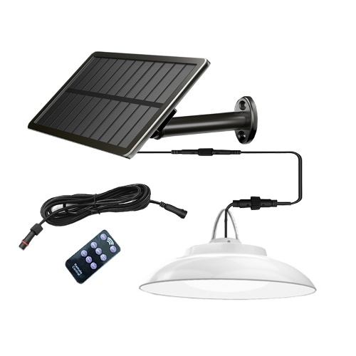 Solar Lamp 2.5W Solar Panel 8W LED Light 48 LED Lamp Bead Induction Wall Lamp Outdoor Home Courtyard Garage Garden Lamp